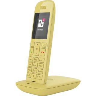 Telekom Tele Speedphone 11 mit Basis und AB   ye gelb,