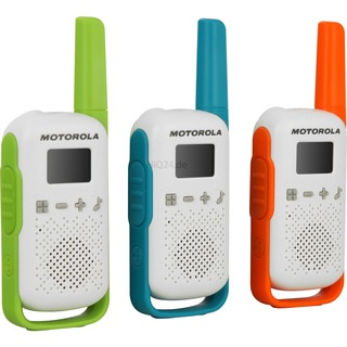 Motorola Moto Talkabout T42 Triple weiß, 3 Stück 4 km 500