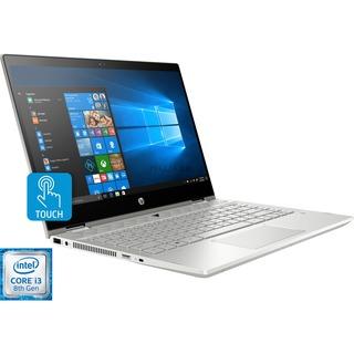 HP Pavilion x360 14-cd0002ng Silber Hybrid i3 256 SSD