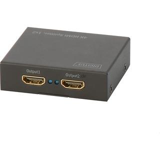 Digitus HDMI Splitter 4K UHD 1x HDMI > 2x HDMI, Splitter &