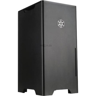 Miditower SilverStone FT03B-Mini (schwarz) schwarz DTX