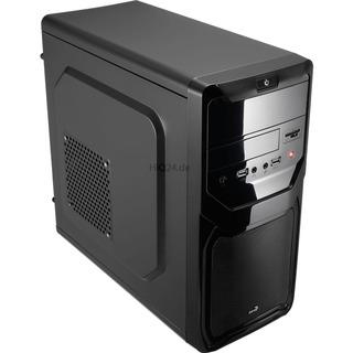 Aerocool Qs-183 Advance bk mATX schwarz / Black Edition