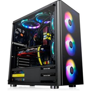 Thermaltake Tt V200 TG RGB                        bk
