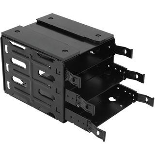Nanoxia Deep Silence HDD Käfig 3er, Wechselrahmen schwarz