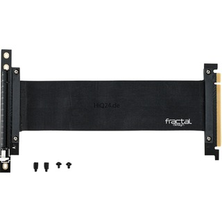 Fractal Design Flex VCR-25 schwarz  PCIe 3.0 x16
