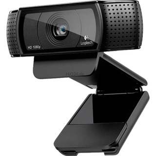 Logitech HD Pro Webcam C920 schwarz Video: 1920 Pixel,