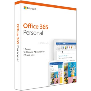 Microsoft MS Office 365 Personal 1Y DE | 2019 1