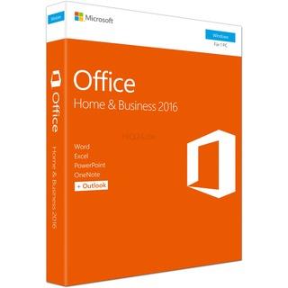 Microsoft Office Home & Business 2016 PKC DE 1U