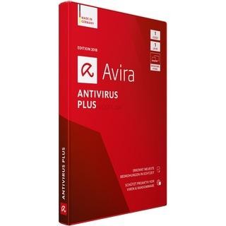 Avira AntiVirus Plus 2018          1U DE  Vollversion