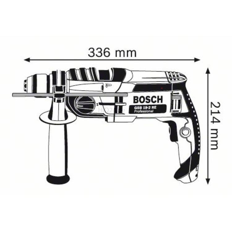 Werkzeug Bosch Schlagbohrmaschine Gsb 19 2 Re Professional