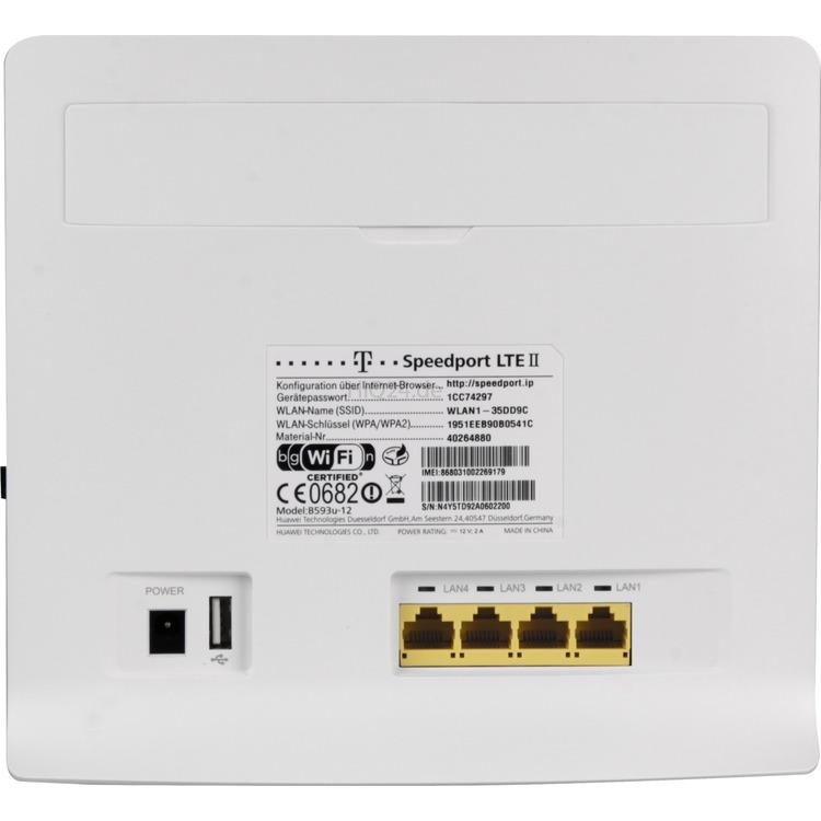 Netzwerkkomponenten Telekom Speedport Lte Ii Router