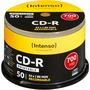 Speichermedien Intenso CD-R 700 MB printable inkjet, 50er